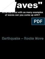 Lecture Notes-Earthquakes and Seismic Waves