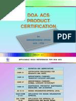 sertfication product