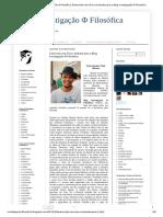 Blog Investigação Φ Filosófica_ Entrevista Com Érico Andrade Para o Blog Investigação Φ Filosófica