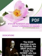 Attitude towards patients