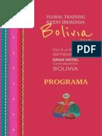 Iberiada de floristeristas 2019 - programa Final
