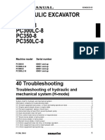 PC350-8 Troubleshooting of hydraulic and mechanical system (H-mode).pdf