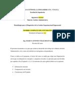Metodología Para El Diagnóstico de La Gestión Organizacional Empresarial