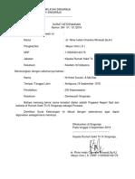 Surat Keterangan Utk SIPP