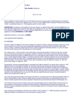 SPOUSES FERNANDO  vs. CONTINENTAL AIRLINES, INC.,