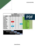 Examen Regional Excel - CALIFICACIONES