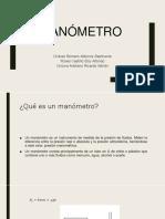 Presentacion manometro