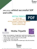 Secrets behind Successful SOP