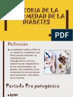 Historia Natural de La Diabetes Mellitus