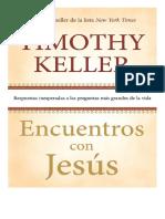 Encuentros con Jesús de Timothy Keller