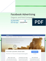 Facebook Advertising (PPC and Organic) - Jay Baratilla