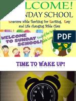 E Sunday School