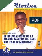 Pilotine Magazine Port Autonome Lome