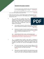 Tutorial Economic Analysis (1)