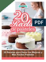 20 Recetas de Pasteles