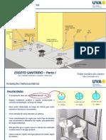Instalações+hidrossanitárias+-+ESGOTO+-+Parte+I