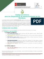 Codigo de Colores Reciclaje