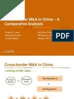 CrossBorderM&AInChina