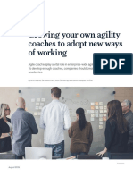 Growing your own agility coaches to adopt new ways of working