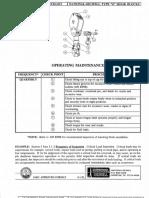 National Type g Hook-block Iadc Check List