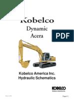 Kobelco -6E Hydraulic Schematic