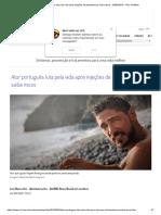 Ator Português Luta Pela Vida Após Injeções de Testosterona; Saiba Riscos - 04-09-2019 - UOL VivaBem
