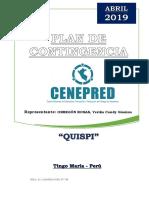 Plan de Contigencia Quispi