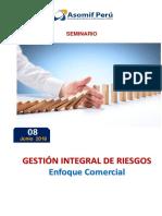 Programa G Riesgos Enfoque Comercial