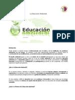 La Educación Ambiental-Cult. Amb