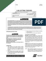 Cutting Torch Manual