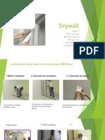 Muros No Convencionales- Drywall