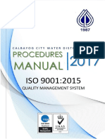 Procedures Manual - Iso