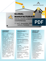 Manufacturing Conference Brochure