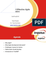 The 7 Habits of Effective Agile Testers