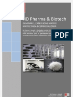 Nd Pharma & Biotech Demineralizated Bone Matrix