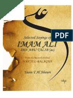 Sayings of Imam Ali