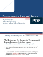 2.History of Env Law