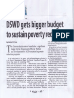 Manila Standard, Sept. 5, 2019, DSWD gets bigger budget to sustain poverty reduction.pdf