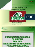 Prevención de Riesgos Aplicados en Minería