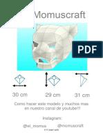 Máscara de Puma9887