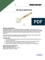 1 Pie Field Indicator Product Data Sheet English