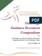 Oxe Bridge Guidance Documents Compendium v 0