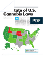 The State of U.S. Cannabis Laws, abridged