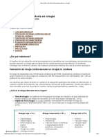 Guía Clínica de Valoración Preoperatoria en Cirugía