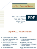 Unix Security Basics