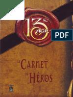 Carnet Du Héros PDF