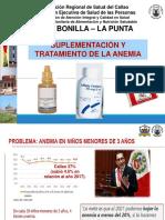 3. Suplementación y Tratamiento de La Anemia