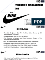 Nike India Marketing & Distribution