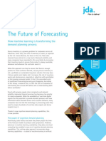 The Future of Forecasting White Paper - JDA