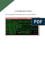 PgAdmin4 DB Configuration Steps